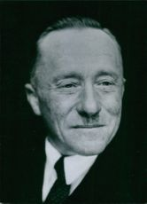 French Politicians: Maurice Lucas, Popular Republican (M.R.P) Deputy for the Manche