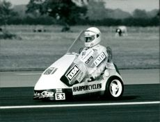The Sinclair C5 Electric Tricycle.