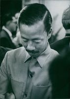 Air Vice Marshall Ky been vice president of South Vietnam since September 1967. Presently coordinator of the South Vietnamese delegation at peace talk in Paris. 1969