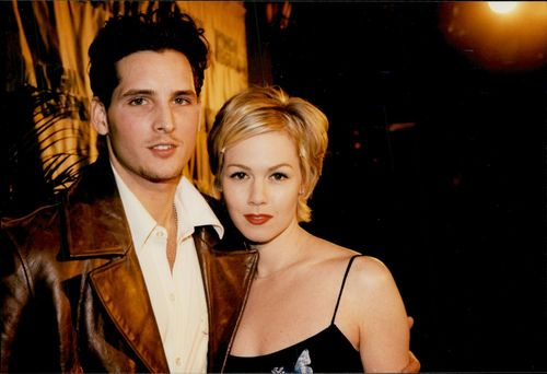 Actors Jenny Garth and Peter Facinelli