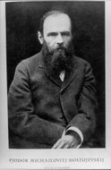The author Fjodor Dostoevsky