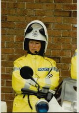 Motorcycle Police Gail Oxley