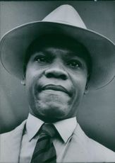 Portrait of Minister of Commerce and Industries A.C. Nwapa.