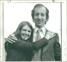 Timothy Smith with his girlfriend.