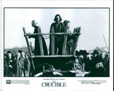 Daniel Day-Lewis in the movie The Crucible, 1996.