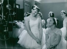 A scene from the film The song to her.