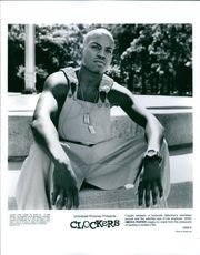 Mekhi Phifer features on the poster of movie Clockers.