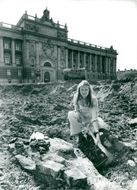 Archaeologist Solbritt Bennet is looking for a national plan in front of the old Parliament House