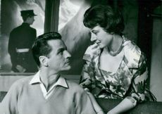 "George Fant and Mona Dan-Bergman in ""Fallan"""