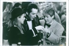 Still of John Cusack, James Spader and Imogen Stubbs in True Colors.