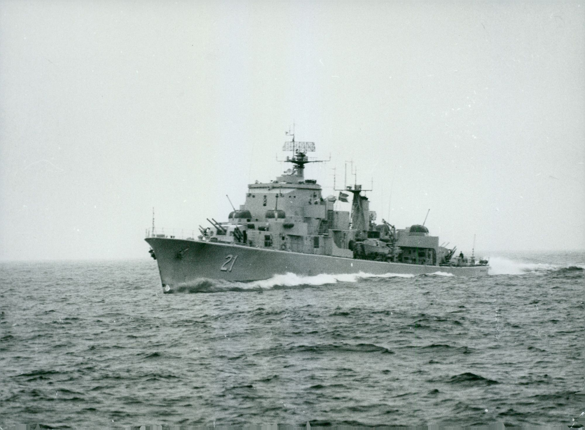 Fleet Hunter Hms Sigurd 21 At Sea Scan Tt 00561304 Ims Vintage Photos