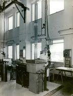 AB Atomic Energy. Interior of the chemical hall