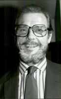 Roger Moore with beard