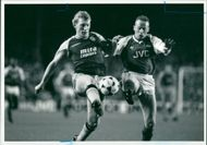 Perry Groves and Kevin Gage.