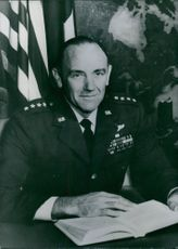 U.S Air Force Chief General John Dale Ryan, portrait.