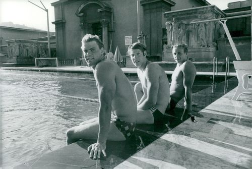 Sims Pär Arvidsson, Bengt Baron and Pelle Holmerby