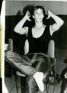 Ronald Reagan Jr. during a rehearsal with Joffrey Ballet Company