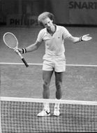 Ray Moore during Stockholm Open 1977