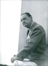 Historic photograph of Somerset Maugham. 1980.