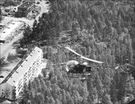 Helicopter over Magelungen