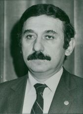 Portrait of Ahmet Alptemucin.