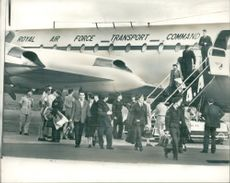 RAF ground crews arrived during 1965's Zambia Crisis