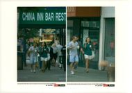 Andre Agassi and Brooke Shields enjoy a walk and some ice cream