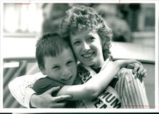 Cathy Kerr and son Kevin