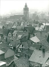 Roofs of a city