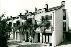 Row houses in the Ruhr area