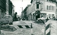Road construction in Germany